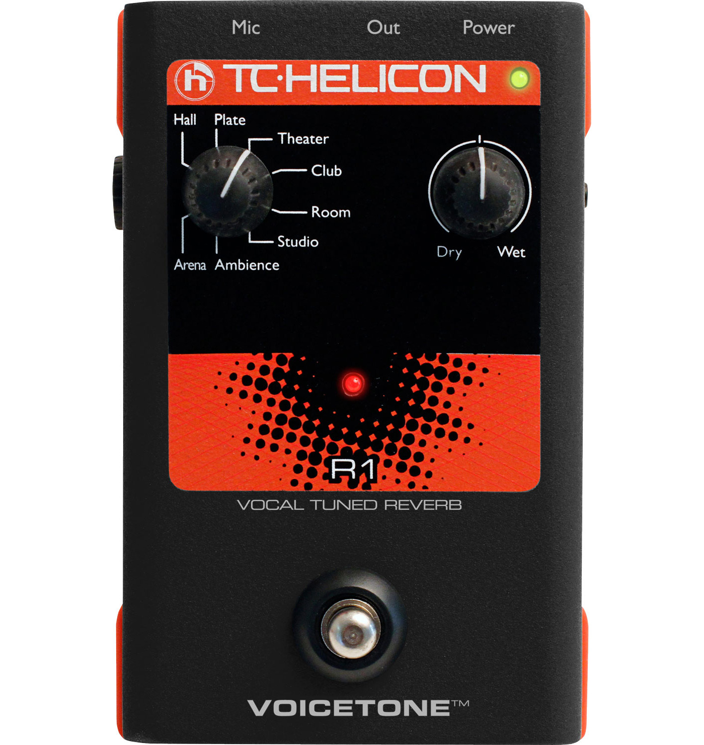 VoiceTone Single R1 Reverb