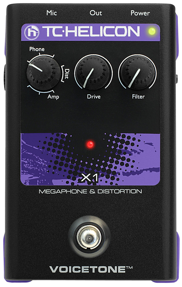 VoiceTone Single X1 Distorsion/Mégaphone
