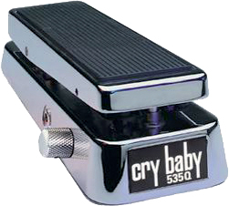 Cry Baby 535Q Chrome 20th Anniversary