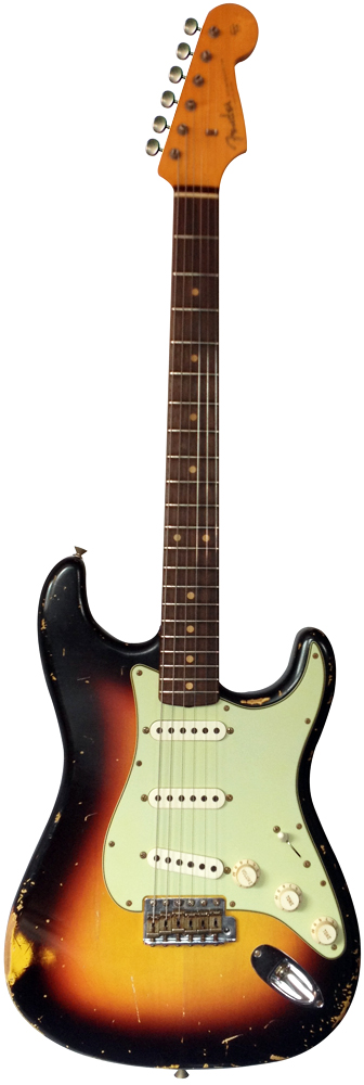Master Built 1960 Heavy Relic Stratocaster P.Waller