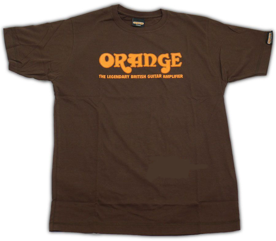 T-Shirt Orange Amps Extra Large