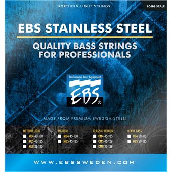 EBS TN-CM4 Titanium Nickel Classic Medium
